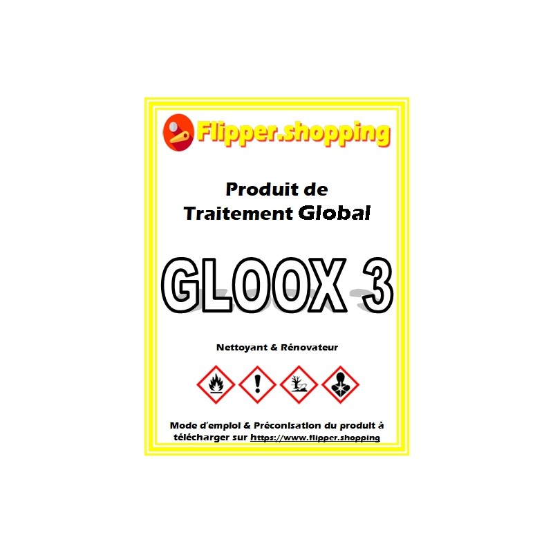 Produit 500 ml Nettoyant GlobaL GLOOX 3