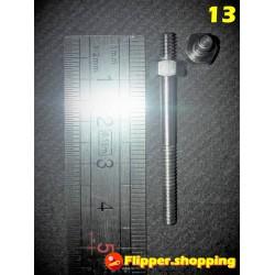 Vis plateau 6-32 44 mm1-1/16