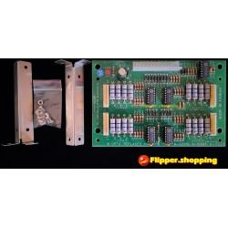 A-22019 A-16998 A-17223 Carte Remplacement Bally / Williams 16 Opto