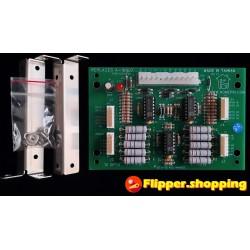 10 Opto Board A-16807 Carte HOMEPIN Bally / Williams 10 Opto